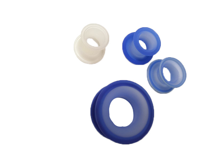Injection Molded Medical Part with Silicone Material